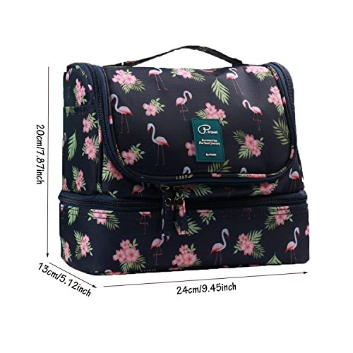 kulturbeutel frauen kulturtasche damen zum aufh ngen waschtasche flamingo 02 ebay. Black Bedroom Furniture Sets. Home Design Ideas