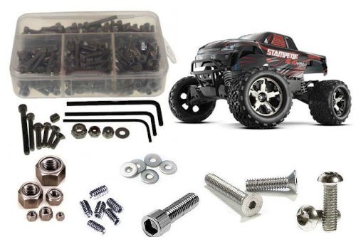 RC Screwz Traxxas Stampede VXL 4x4 Stainless Steel Screw Kit