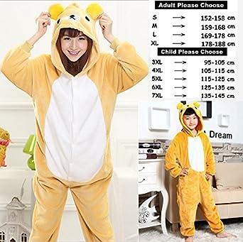Amazon.com  MH-RITA Stitch Tiger Animal Pajamas Sleepwear Unisex ... 5e6bb25b1
