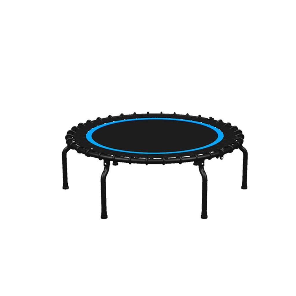 XUANLAN Home Trampolino da Fitness Pieghevole Ultra-Silenzioso, Resistente al carico, Anti-Pizzico, Portatile e Resistente (Colore   blu)