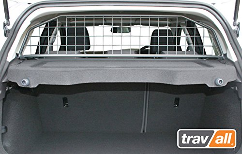 Travall Guard for Ford Focus 5 Door Hatchback (2010-2018), Ford Focus RS (2015-2018) and Ford Focus ST (2012-2018) TDG1302 - Rattle-Free Luggage and Pet Barrier