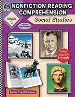Nonfiction Reading Comprehension: Social Studies, Grade 4