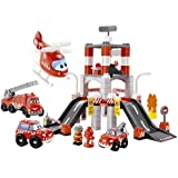 Ecoiffier - 3039 - Caserne Des Pompiers - Abrick
