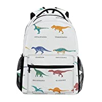 Cute Unicorn Characters School Backpack for Boys Girls Bookbag Travel Bag
