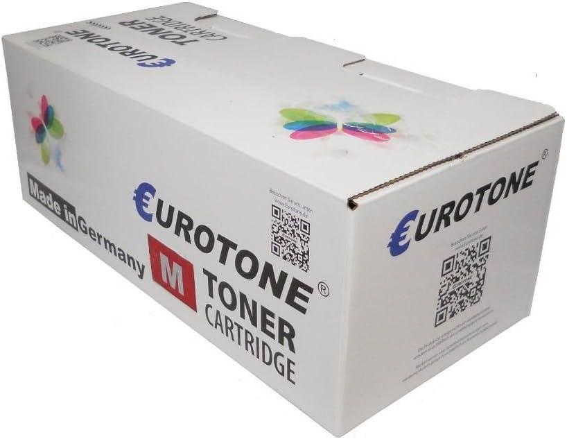 Eurotone Refill Toner Chip for HP Color Laserjet 3800 DN N DTN Fills Q7581A 503A