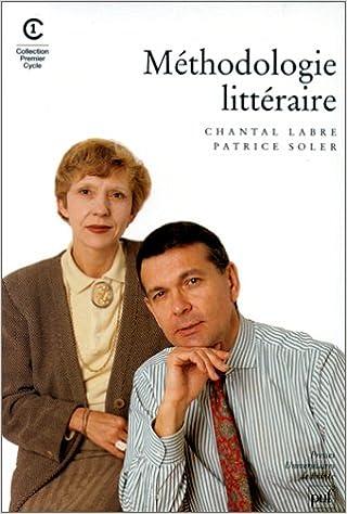 Livre Méthodologie littéraire pdf ebook