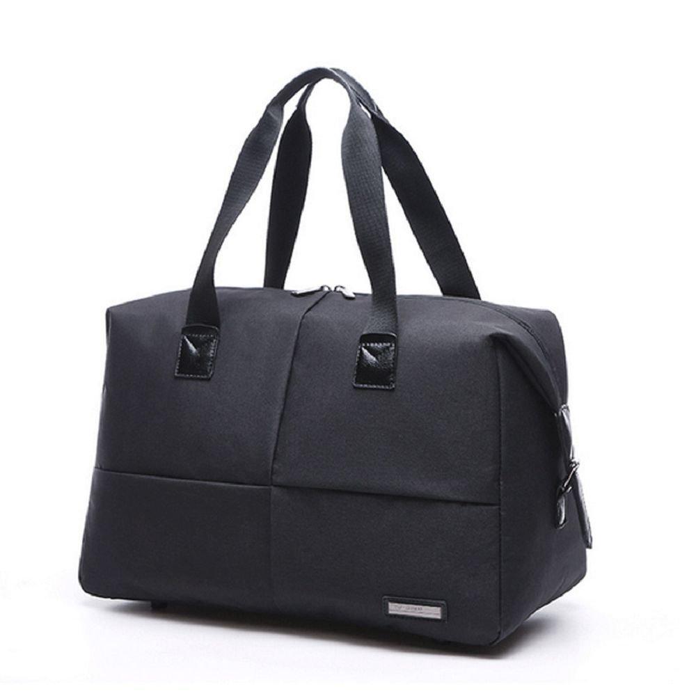 Large Capacity Mens Waterproof Gym Bag Sports bag Luggag Travel Bag(#2) (Black) Tuguan tuguan1-9