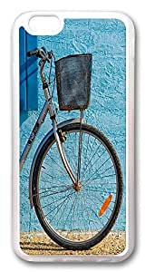ACESR Bicycle Custom iPhone 6 Cases, TPU Case for Apple iPhone 6 (4.7inch) Transparent