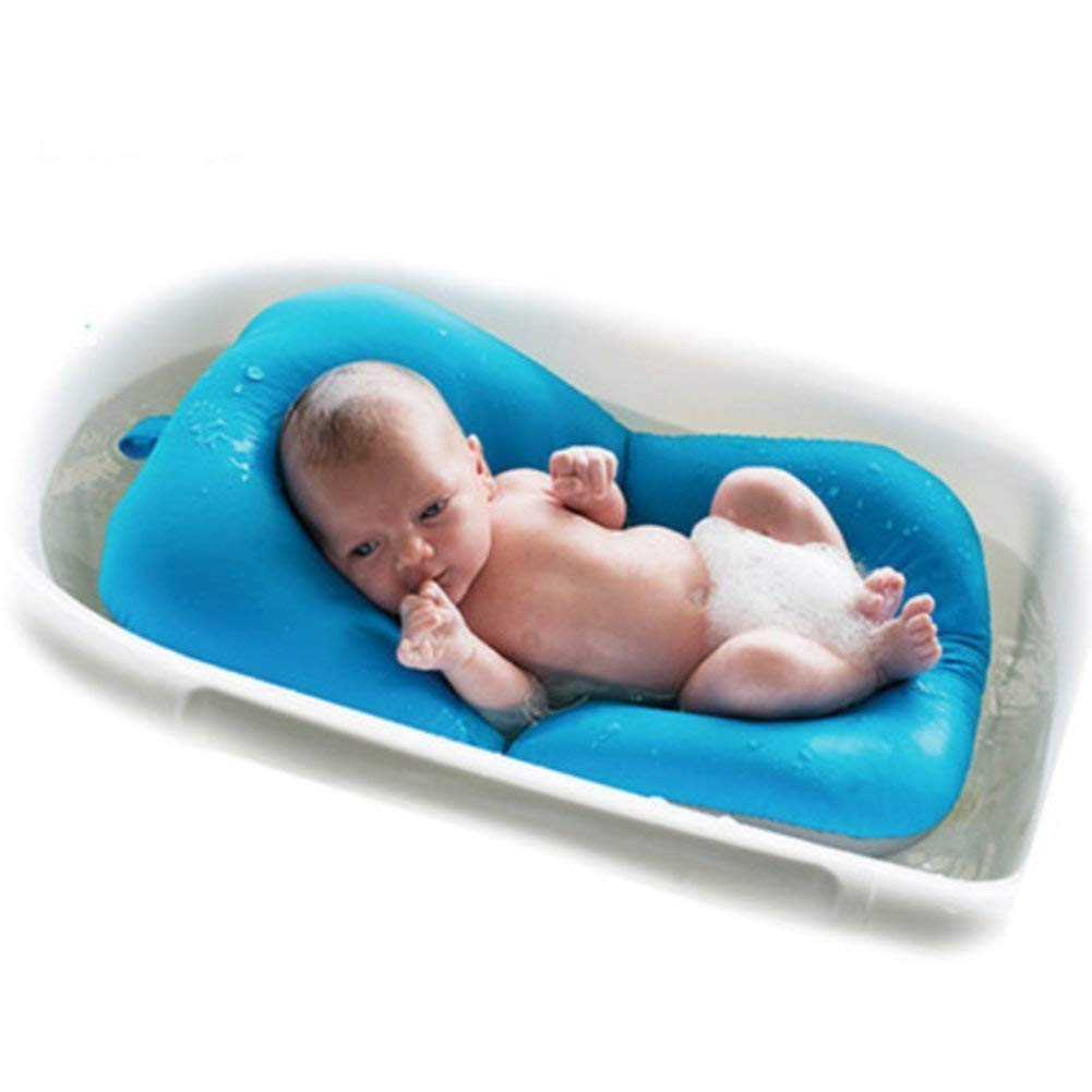 Baby Bather Infant Bath Pad, Moonvvin Floating Soft Baby Bath Pillow ...