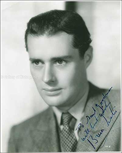 Bruce Lester - Inscribed Photograph Signed Circa 1940