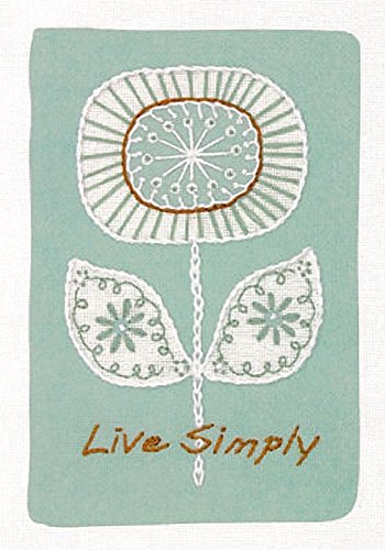 Dimensions Needlecrafts Crewel Embroidery, Live Simply