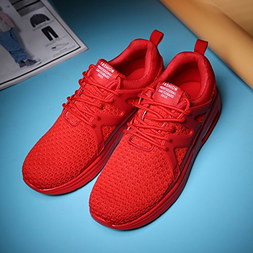 Homme Rouge Rouge Basses XIANV Sneakers Basses Homme Sneakers XIANV xnzfvRwq0z