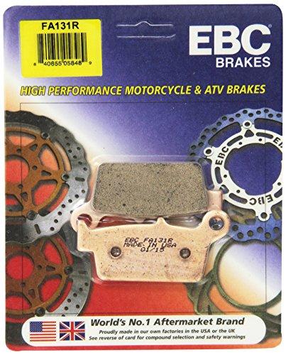 Parts Atv Yamaha Catalog (EBC Brakes FA131R Disc Brake Pad Set)