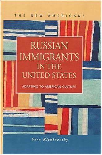 russian immigrants in the united states adapting to american  russian immigrants in the united states adapting to american culture new americans vera kishinevsky 9781593320560 com books