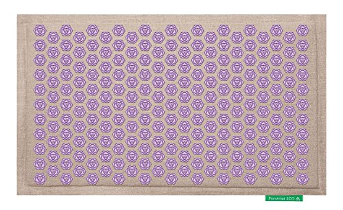pranamat eco therapeutic massage mat natural lavender in the uae see prices reviews and. Black Bedroom Furniture Sets. Home Design Ideas