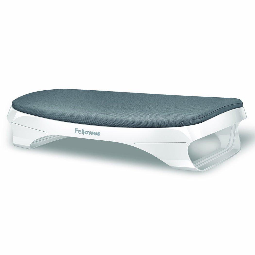 Fellowes I-Spire Series Foot Cushion, White/Gray Fellowes Canada Ltd 9311703