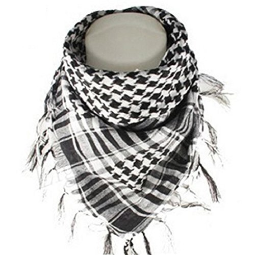 Phoenixb2c Unisex Cotton Tactical Military Shemagh Keffiyeh Scarf by Phoenixb2c (Image #1)