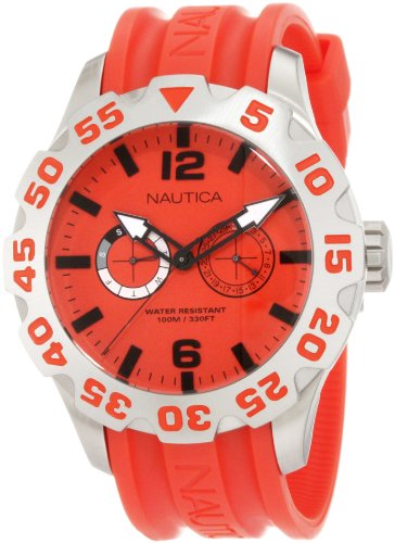 Nautica Men's N16602G Bfd 100 Multi Watch