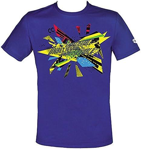 ARENA - tee Chad Le Clos, Color Amarillo,Azul, Talla XXL: Amazon.es: Deportes y aire libre