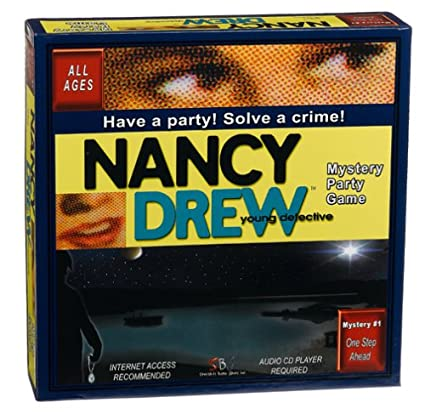 Amazon.com: Nancy Drew Mystery Party Game: Toys & Games