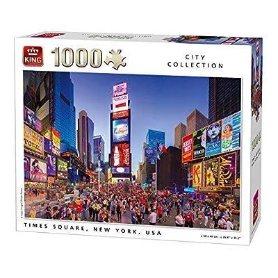 King 5707 New York Puzzle Da Pezzi 68 X 49 Cm