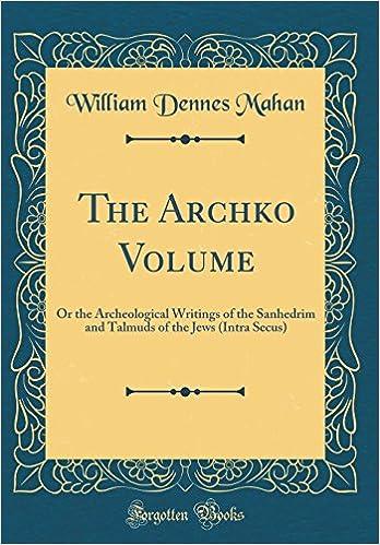 Archko volume online