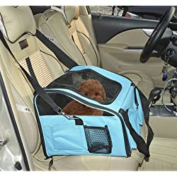 Travel Pet Dog Carrier Bag Cage Puppy Soft Crate Foldable Booster Seat Oxford