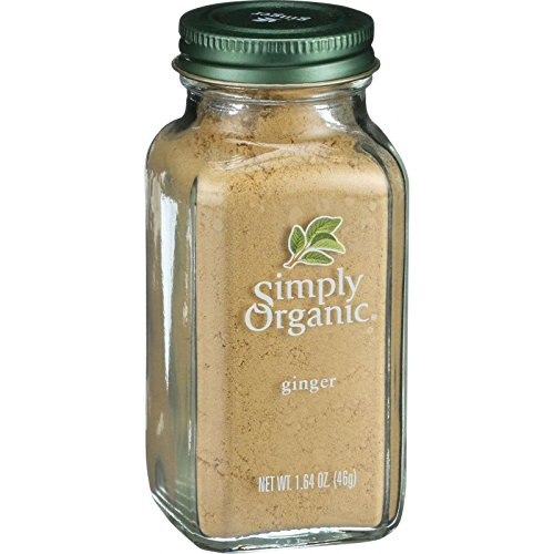 Simply Organic Ginger Root Ground Certified Organic, 1.64-Ounce (Ginger Root Powder)