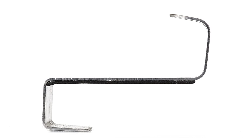 Stainless Steel Finish Richelieu Hardware RH3002201170 Utility Over the Door Hook