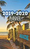 2019-2020 Planner Beach: Two Year Monthly Organizer Pocket Size Notebook