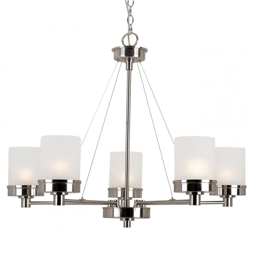 Amazon Trans Globe Lighting 70338 BN Indoor Fusion 28 Chandelier Brushed Nickel Home Kitchen