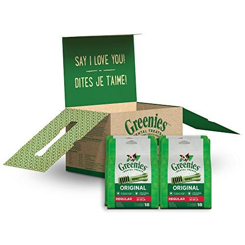 Greenies 72 oz 72 Treats Original Regular Dog Dental Chews, 4.5 lb