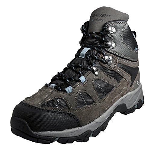 Hi-Tec Men's Altitude Lite I Waterproof High Rise Hiking Boots Gull Grey / Black / Goblin Blue 1M8Yko39TJ
