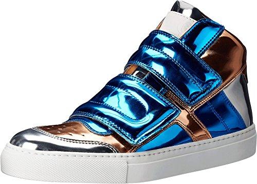 mm6-maison-margiela-womens-mirrored-high-top-blue-copper-silver-mirror-sneaker-375-us-womens-75-m