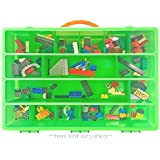 Splashlings Case, Toy Storage Carrying Box. Figures Playset Organizer. Accessories For Kids by LMB