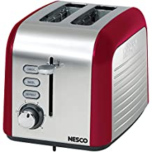Nesco T1000-14 2-Slice Toaster, Red