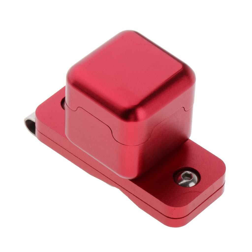 perfeclan Billar Piscina Caja de Tiza Soporte Met/álica con Clip Universal Bolsillo Piscina Tiza Sostenedor