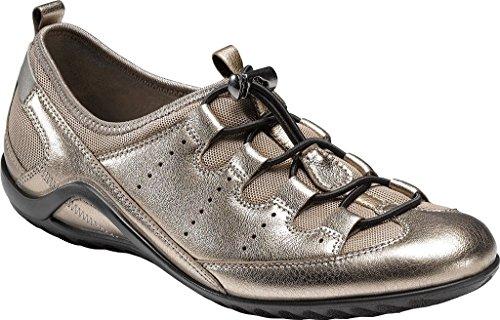 ECCO Women's Women's Vibration Ii Toggle Fashion Sneaker, Moon Rock, 38 EU/7-7.5 M US