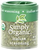 Simply Organic Italian Seasoning Certified Organic, .14-Ounce Containers (Pack of 6)