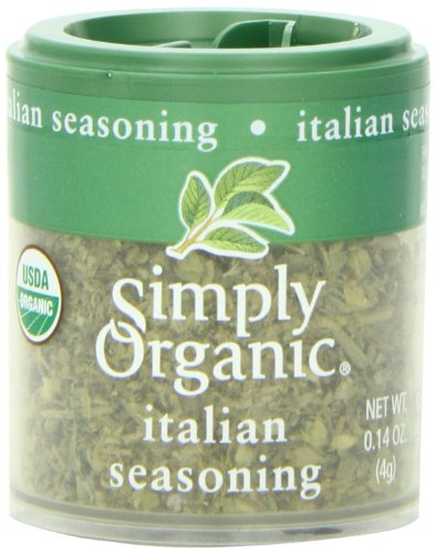 - Simply Organic Italian Seasoning Certified Organic, .14-Ounce Containers (Pack of 6)