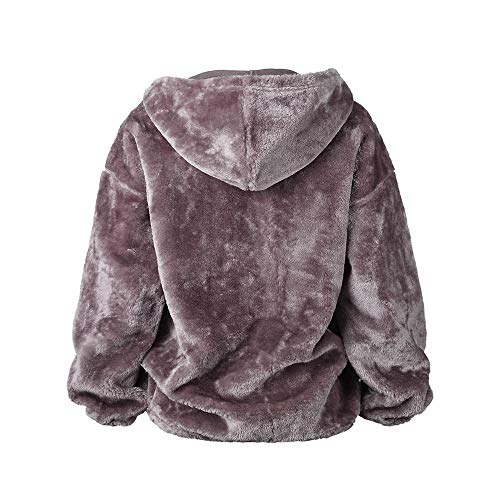 Chaud Femme Oversize Fluffy Manteau Sweat qwtvf7