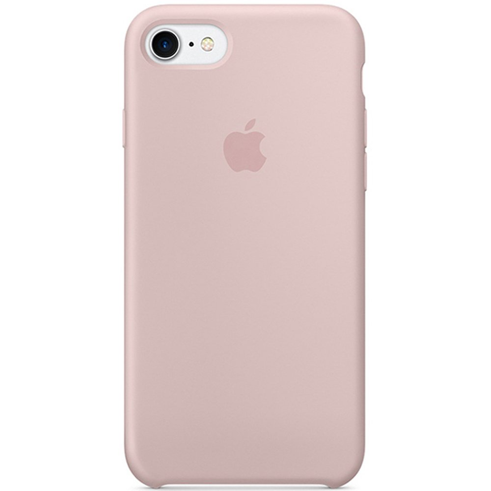 Optimal shield Soft Apple Silicone Case Cover for Apple iPhone 7 (4.7inch) Boxed- Retail Packaging (Bright Blues)