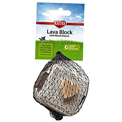 Kaytee Lava Block Chew Toy