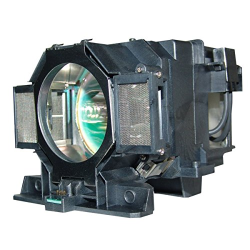 QueenYii Compatible for EPSON PowerLite 9300NL Replacement Projector Lamp with bulb inside
