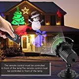 Cheap Christmas Projector Lights,ICOCO Holiday Projector Show Star Light with Green Christmas Tree and Red Star Patterns for Xmas,Parties and Garden Decoration (Christmas Projector Light)