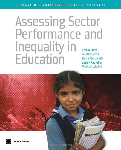 Assessing Sector Performance and Inequality in Education: Streamlined Analysis with ADePT Software (Household Finance Software)