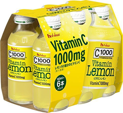 Syrup Nutritional Information - (Case) C1000 Vitamin Lemon 140mlX6 this