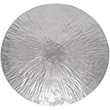 Deco 79 Steel Wall Decor and Sophisticated Design, Grey Finish