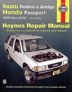 isuzu rodeo amigo honda passport automotive repair manual 1989 rh amazon com 2013 Honda Passport 1998 Honda Passport