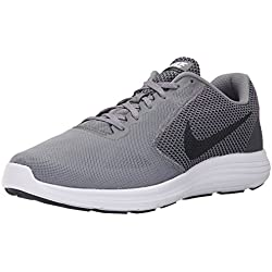 NIKE Men's Revolution 3 Running Shoe, Cool Grey/Black/White, 10.5D(M) US